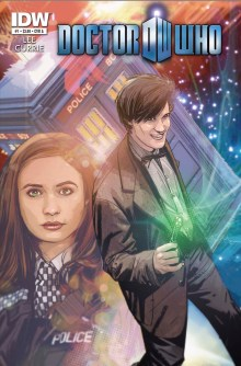 [DOCTOR WHO #1 cover]