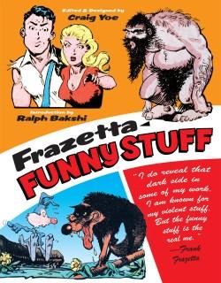 [Frank Frazetta Funny Stuff Cover]
