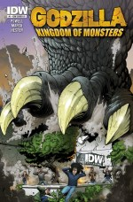 [Godzilla Kingdom of Monsters Cover 3]