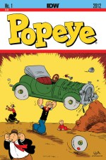 [Popeye #1 2nd Printing Cover]