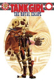 [Tank Girl: Royal Escape #1 cover]