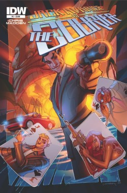[Jack Avarice is the Courier #1 Cover]