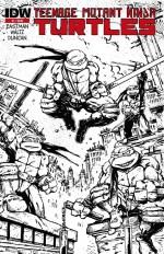 [Teenage Mutant Ninja Turtles #1 Cover]