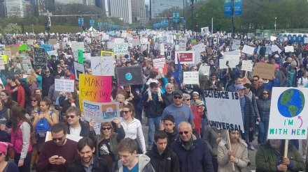 Crowd @ Science March