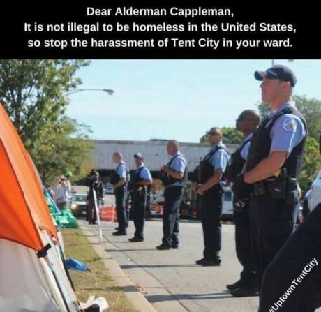 Cops vs. Homeless