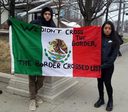 We Didn't Cross the Border...