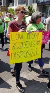Low income residents are not disposable