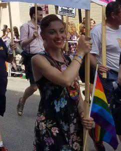 Pride marcher