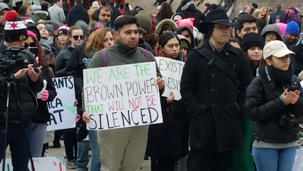 We are the Brown power...