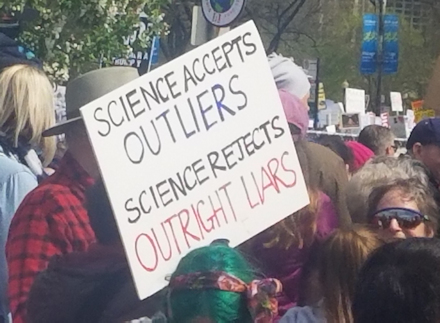 Science accepts outliers