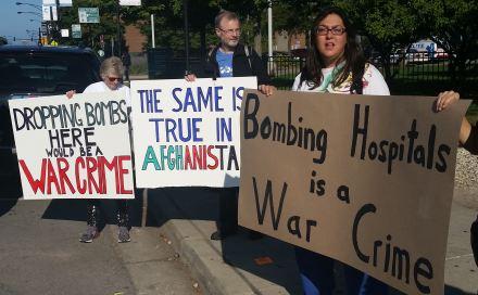 Bombing Hospitals is a War Crime