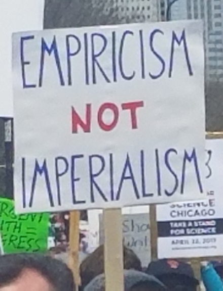 Empiricism, not imperialism