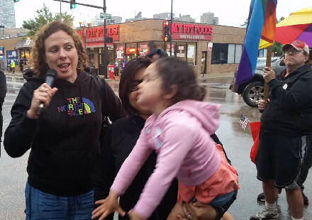 Mom & daughter celebrate court decision