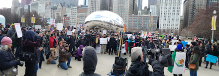 Crowd by The Bean