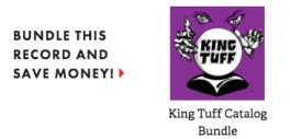 King Tuff album catalog bundle