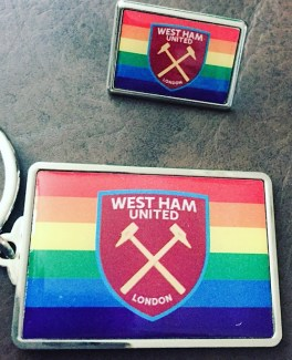 West Ham's official rainbow products