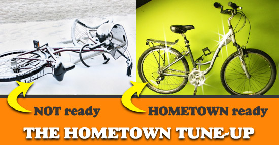 The Hometown Bicycles Tune-Up