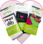 Sock Guy bike socks for Valentine's Day