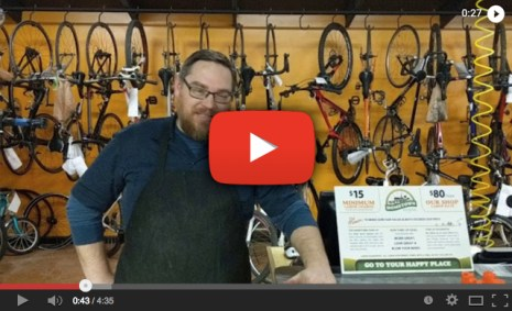 Hometown Bicycles 2-Minute Tip intro video with Matt Fitzhorn