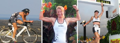 Hometown Bicycles clinician Amy Gluck at IRONMAN