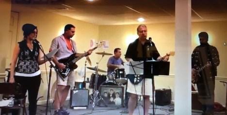 Vinnie Baylerian's band DoL