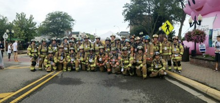 Brighton Area Fire Department in full gear