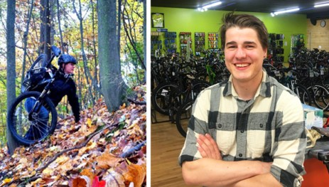Hometown Bicycles Service Tech Matt Thompson