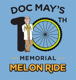 Howell Melon Festival's Doc May Memorial Melon Ride sponsored by Hometown Bicycles