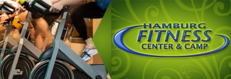 Spin indoor cycling classes at Hamburg Fitness Center and Camp