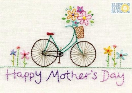 Happy Mothers Day bicycle