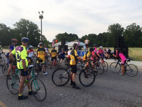 Tour de Livingston Kick-Off Ride 2016 with Team Hometown Bicycles
