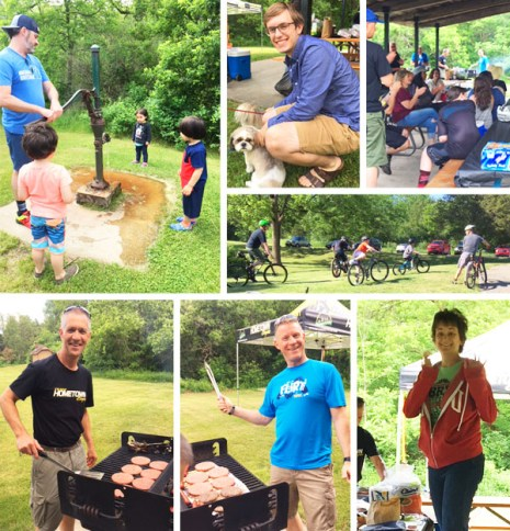 Team Hometown Bicycles Picnic 2018