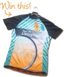 Win this Tour de Livingston jersey at our Hometown Bicycles Party Ride with Shaun