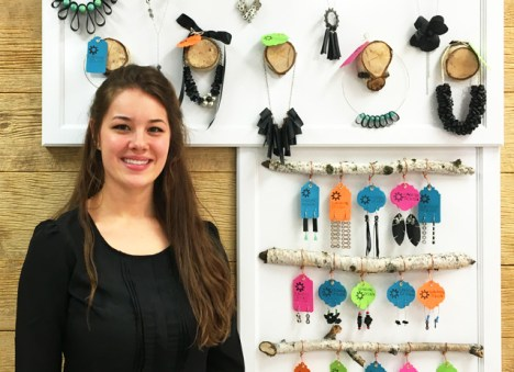 The beautiful bike jewelry creations of Aubrey Baumeier, exclusively at Hometown Bicycles