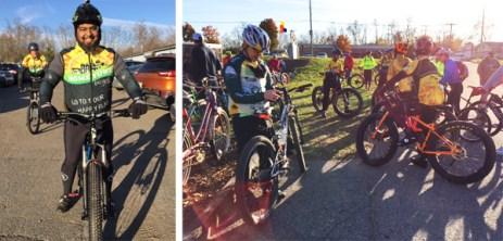 Fat bike friendly mountain bike shop ride with Shaun Bhajan at Hometown Bicycles' Fall Extravaganza