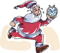 Late santa
