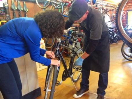 "Bicycle Clinics at Hometown Bicycles Whitmore Lake with Dan ""CycloDan"" Tribble"