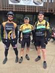 Team Hometown Bicycles Michael Dyer and Brian TerBush at Peak2Peak Mountain Bike Classic 2016