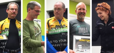 Team Hometown Bicycles 2016 award winners