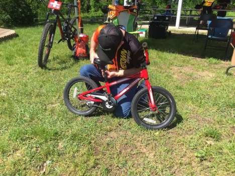 POTO Take a Kid Mountain Biking