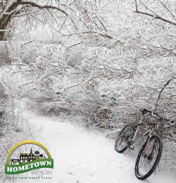 Winter cycling with Hometown Bicycles