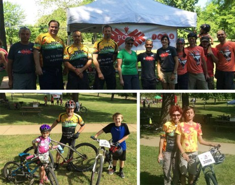 Hometown Bicycles makes a splash at Poto IMBA Take a Kid Mountain Biking Day