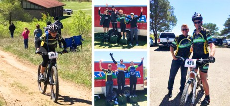Team Hometown Bicycles at Fort Custer Stampede