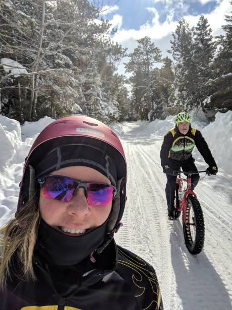 Hometown Bicycles' Andy Miller and Kristen Kendall-Miller on Mackinaw Island