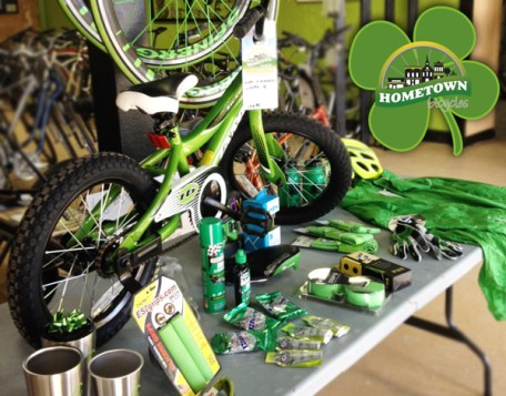 Hometown Bicycles - St. Patrick's Day