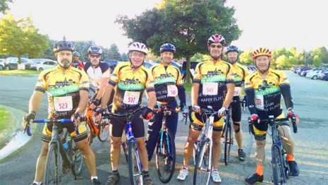 Team Hometown Bicycles at the Milford Labor Day 30K bicycle race