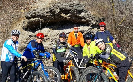 Hometown Bicycles Fat Bike Friendly Shop Ride at Island Lake Badlands