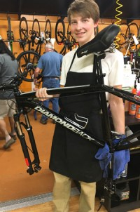 Hometown Bicycles Service Tech Matt Persha