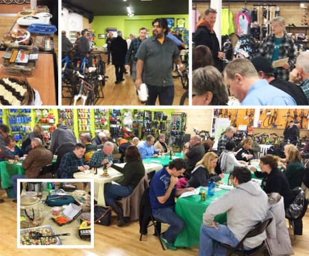 "Hometown Bicycles' ""Where to Ride in MI"" Potluck Clinic"