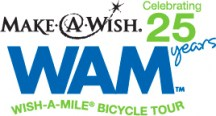 Make-A-Wish's 25th Anniversary Wish-A-Mile Bicycle Tour